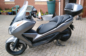 Motorbike Honda Forza NSS300(A-D) 2016, 5518 Miles, Silver
