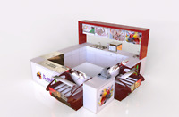 Customized Kiosks and Counters!