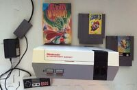 Nintendo System With Controller, 3 Games (Super Mario 3!)