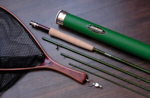 """Sage TCX Fly Fishing Rod 9ft-4-Piece 6 Weight in """"New Condition"""""""