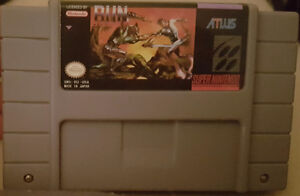 Run Saber for SNES (REPRODUCTION)