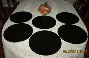 SET OF 6 MIKASA CHARGER PLATES Peterborough Peterborough Area image 2