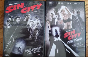 Sin City + Sin City: A Dame to Kill For - 2 DVD collection