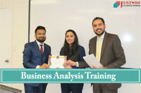 BA COURSE, EARN $45/HR AS BUSINESS ANALYST, 5 JANUARY STARTING