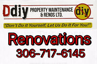 """Ddiy """"Don't do it yourself, let us do it for you"""" Free Estimates"""