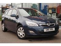 2011 VAUXHALL ASTRA 1.6i 16V Exclusiv PARKING SENSORS, CRUISE and AIR CON