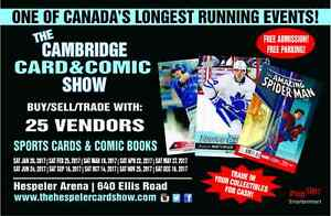 Cambridge Sports Hockey Rookie Card Comics Collectibles Show