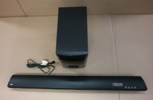 Home audio bluetooth sound bar and subwoofer