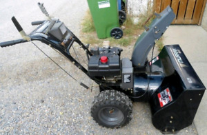 Snow blower, lawn tractor, and generator
