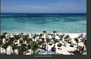 Aruba Marriott Surf Club  - 2 bedroom 2 bath sleeps 8 $3900USD