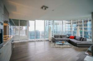 Icone luxury condo building downtown Montreal 3 bedrooms