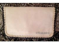 New with tags - Beige Stella inspired clutch bag