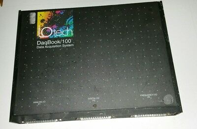 Measurement Computing Iotech Daqbook100 Portable Pc-based Data Acquisition Sys