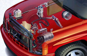 Have your vehicle air conditioner serviced!!! Leaks? No problem!