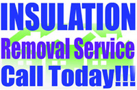 Attic Insulation Removal Service & Install CALL TODAY!!