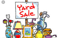 June 24th.  Yard sale.   431 cardiff place