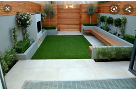 Complete Garden Make Over Services Decking Indian Stone Etc