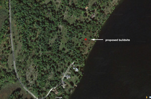 21 Acres Waterfront acreage, near Perth/Westport, investment.