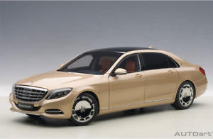 DIECAST AUTOart 1:18 Mercedes Maybach S600 Champagne Gold