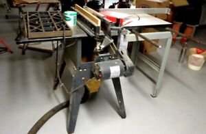 """Craftsman 10"""" Cabinet Maker's Saw with Sliding Panel Cutter."""