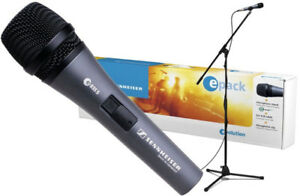 Sennhesier Mic Package (Mic, stand, cable)