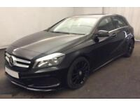 2013 BLACK MERCEDES A180 1.5 CDI AMG SPORT DIESEL MANUAL CAR FINANCE FROM 46 P/W