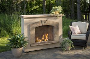 Backyard Propane Elegant Fireplace