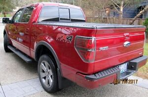 2013 Ford FX4 4WD Ruby Red Supercrew Cab–44,350 Km. Immaculate