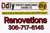 Tile, Hardwood, Vinyl plank and laminate flooring installs