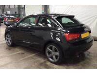 2011 BLACK AUDI A1 1.4 TFSI SPORT PETROL MANUAL 3DR CAR FINANCE FR £25 PW