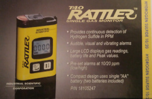 T40 Rattler Gas Detectors brand new unopened $80.00 for both