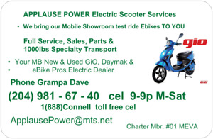 Electric Scooter, ebike, eScooter Sales, Parts, Repair for less!