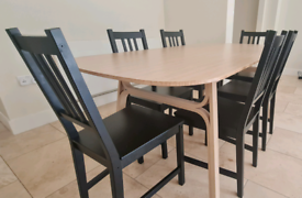 6× Dining chairs