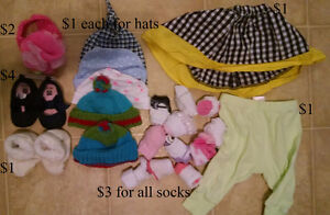 Clothing & other baby stuff
