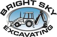 BRIGHT SKY EXCAVATING Mini excavator