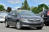 2012 Honda Civic Berline 63$/sem Lx