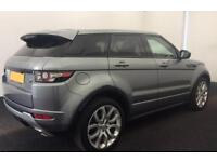 LAND ROVER R/R EVOQUE 2.0 TD4 SE TECH HSE DYNAMIC 4WDLUX 2WDFROM £134 PER WEEK!