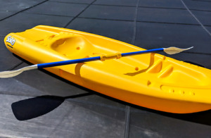 2 Pelican Solo Kids Kayaks with paddles ($169 each in store)