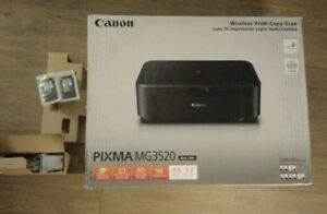 Canon PIXMA MG3520 Wireless All in One Printer / Scanner