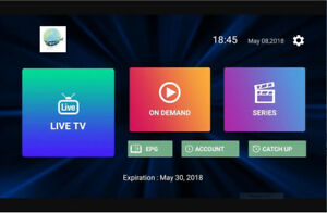 IPTV on your iphone,Android Phone,iPad,PC- 2 connection/1 price