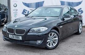 2011 BMW 5 SERIES 520D SE 4 DOOR FULL SERVICE HISTORY BEIGE LEATHER 2 KEYS SUPPL