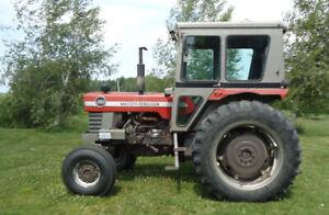 Tracteur Massey-Ferguson 1970,