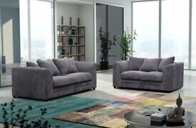 🛑🛑 BYRON SOFA 3+2 - 🛑🛑SAME/NEXT DAY DELIVERY - MATCHING FOOT STOOL AND CORNER SUITE AVAILABLE