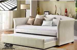VICTORIA DAY BED WITH PULL OUT TRUNDLE ON SALE NOW