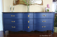French Provincial Style Dresser/ Commode Vintage Provincial