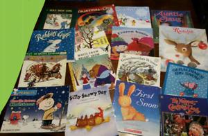 16 Christmas / winter books (group $20)