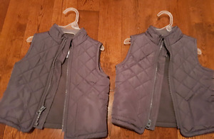 Old Navy vests