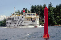 WINE/BAR STEWARD Positions On St. Lawrence River Cruise Ship
