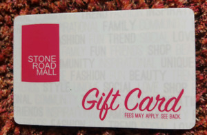 $75 Stone Road Mall Gift Card