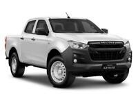 BRAND NEW 2021 ISUZU D MAX UTLITY DOUBLE CAB 4X4 1.9LTR RESERVE NOW